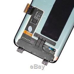 Assemblée De Numériseur De Verre D'écran Tactile D'affichage À Cristaux Liquides Pour Samsung Galaxy S8 G950 Nouveau