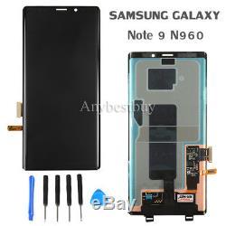 Assemblée En Verre De Convertisseur Analogique-numérique D'affichage À Cristaux Liquides De La Note 9 N960 LCD De Samsung