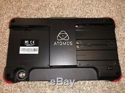 Atomos Ninja Flame 7 Dans. 4k Moniteur D'enregistrement Hdmi Great Condition! W Case