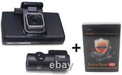 Blackvue Dr750l-2ch 16 Go + Magic Power Pro Fullhd LCD Dashboard Caméra No Wifi