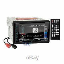 Bluetooth Soundstream DVD Usb Stéréo Dash Kit Harnais Pour 2002-07 Jeep Liberty