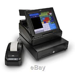 Caisse Enregistreuse Tactile Royal Ts1200mw Avec 12 Écrans LCD