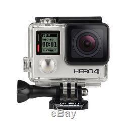 Caméra D'action / Caméscope Gopro Hero4 Silver + Boîtier Étanche + Écran LCD