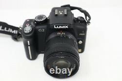 Caméra Sans Miroir Dmc-g2 Panasonic 12.1mp Avec Objectif De 14-42m, Compte De Shutter 3018