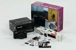 Canon G7x Mkii 20.1mp Zoom 4,2x 3 Pouces LCD Connexion Wi-fi Vlogger Caméra Starter Kit