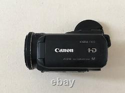 Canon Legria Hf G10 Pal 1080p Hd Dual Sd Slots Caméra Vidéo Camcorder