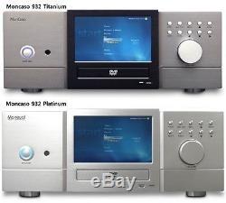 Châssis De Cinéma Maison Moneual Moncaso 932 LCD 7 Pouces À Écran Tactile (couleur Titane)