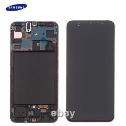 D'origine Samsung Galaxy A50 A505f LCD Écran Tactile Glas Bildschirm Noir