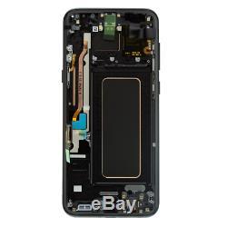 D'origine Samsung Galaxy S8 Plus G955f Écran LCD À Écran Tactile Digitizer Schwarz