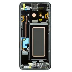 D'origine Samsung Galaxy S9 Sm-g960f Écran LCD À Écran Tactile Bildschirm Schwarz