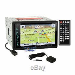 Dash Radio Soundstream Bluetooth Gps Kit Harnais Pour Les 04-07 Nissan Armada Titan