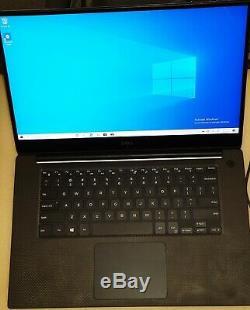 Dell Xps 15 I5-8300h Gtx 1050 4k LCD 16 Go 1tb Win 10 Installes Batt Forte