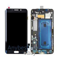Digitaliseur + Cadre Écran LCD Pour Samsung Galaxy S6 Edge Plus G928 G928f