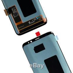 Digitaliseur D'écran Tactile Complet D'affichage À Cristaux Liquides Pour Samsung Galaxy S8 5.8 Sm-g950f