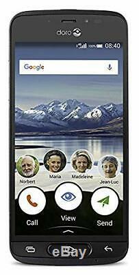 Doro 8040 16 Go Sim Gratuit Déverrouillé Smartphone 4g Lte 5 LCD Hd Écran Tactile B-ue Au Royaume-uni