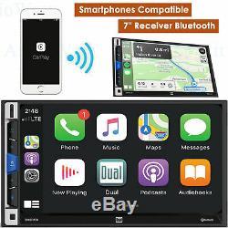 Double Dmcpa70 7 LCD Multimédia Récepteur Bluetooth D'apple Carplay Android Car Auto