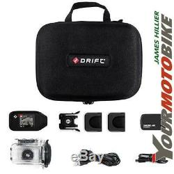 Drift Hd Ghost 4k Caméra Multi Pack Action Moto Cycle Écran À Cristaux Liquides Waterproo