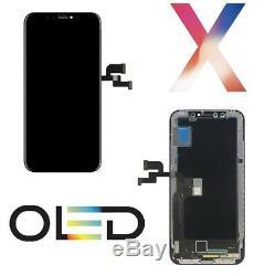 Ecran LCD À Écran Tactile Pour Apple Iphone X 10 Cadre Oled Schermo Ricambio