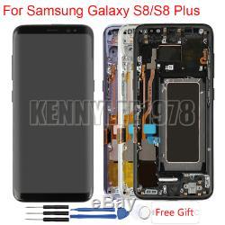 Écran LCD À Écran Tactile Schermo Par Samsung Galaxy S8 G950 / S8 + Plus La Couverture De G955