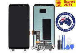 Ecran LCD Amoled Pour Samsung Galaxy S8 + Plus G955 + Écran De Numérisation Tactile