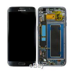 Ecran LCD D'origine Pour Samsung Galaxy S7 Edge G935f + Écran Tactile, Noir