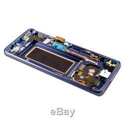 Ecran LCD D'origine Pour Samsung Galaxy S9 Sm-g960f + Écran Tactile Bildschirm Blau