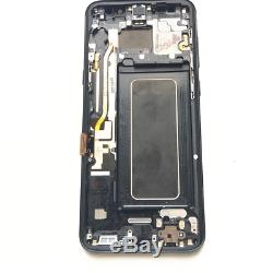 Ecran LCD D'origine Pour Samsung S8 Plus Sm-g955f Bildschirm Schwarz