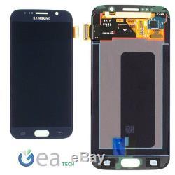 Ecran LCD D'origine Samsung + Ecran Tactile + Cadre Par Galaxy S6 Sm-g920f Nero