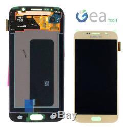 Ecran LCD D'origine Samsung + Ecran Tactile + Cadre Pour Galaxy S6 Sm-g920f Doré