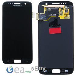 Ecran LCD D'origine Samsung + Écran Tactile Pour Galaxy S7 Sm-g930f Nero Noir