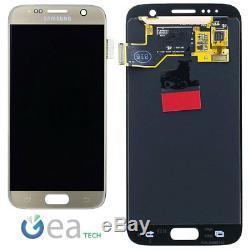 Ecran LCD D'origine Samsung + Écran Tactile Pour Galaxy S7 Sm-g930f Oro Gold