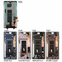 Écran LCD Écran Tactile Digitizer + Cadre De Remplacement Pour Samsung Galaxy Note 9