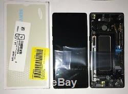 Ecran LCD + Ecran Tactile Originale Kit Samsung Galaxy Note 8 N950f Nero +