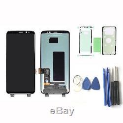 Ecran LCD + Écran Tactile Schermo Pour Kits Nero Samsung Galaxy S8 G950 Sm-g950f