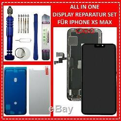 Écran LCD Für Iphone Xs Max Retina Hd Bildschirm 3d Écran Tactile Schwarz Noir