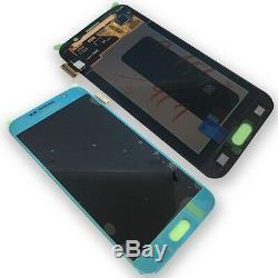 Écran LCD Komplettset Touch Screen Blau Pour Samsung Galaxy S6 G920f Gh97-17260d