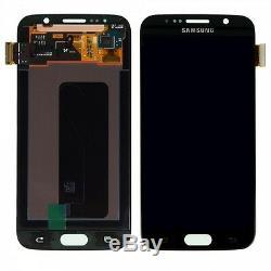 Ecran LCD Komplettset Touchscreen Schwarz Pour Samsung Galaxy S6 G920 G920f Nouveau