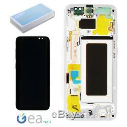 Ecran LCD Original Pour Samsung + Ecran Tactile Par Galaxy S8 Sm-g950f Argent