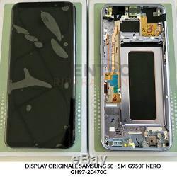 Ecran LCD Tactile Originale Orchid Violet Samsung Galaxy S8 Plus Sm-g955f