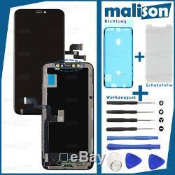 Écran Oled Pour Iphone X 10 Hd Écran Tactile 3d Bildschirm LCD Schwarz Noir Neu