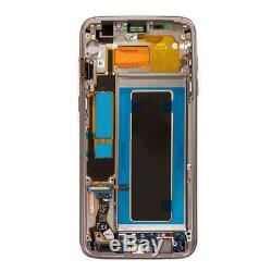 Écran Tactile Complet LCD Assemblage Du Cadre Fr Samsung Galaxy S7 Bord G935f