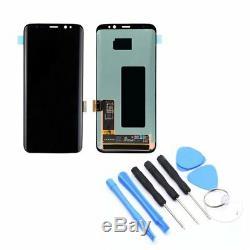 Ecran Tactile D'affichage À Cristaux Liquides De Remplacement Pour Samsung Galaxy S6 S7 S8 Note8wn