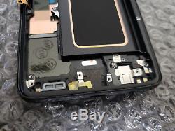 Ecran Tactile De Cadre LCD Pour Numériseur LCD Pour Samsung Galaxy S9 Plus G965u G965, Noir