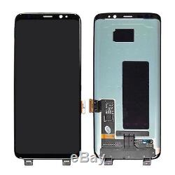 Ecran Tactile LCD Bildschirm Pour Samsung Galaxy S8 G950 Sm-g950f Schwarz