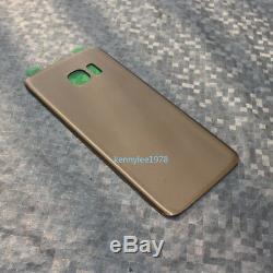Ecran Tactile LCD + Cadre Pour Samsung Galaxy S7 Edge G935f Oro + Coque + Outil