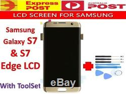 Écran Tactile LCD + Digitizer Assemblée De Remplacement Pour Samsung Galaxy S7 / S7 Bord