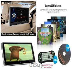 Écran Tactile LCD Moniteur Lecteur DVD Lecteur De Télécommande Ir Télécommande Disque De Jeu Usb