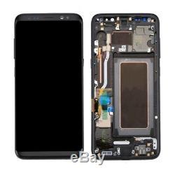 Ecran Tactile Schermo LCD Cadre Nero Samsung Galaxy S8 / G950