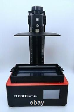 Elegoo Saturne Msla 4k Imprimante LCD 3d Monochrome + Résine Standard Gris + Crème Uv