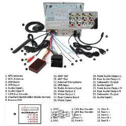 Eonon 7 Audio De Voiture Lecteur DVD Gps Gps Stéréo Avec Système Audio Stéréo Pour Opel Vauxhall Vectra C / D